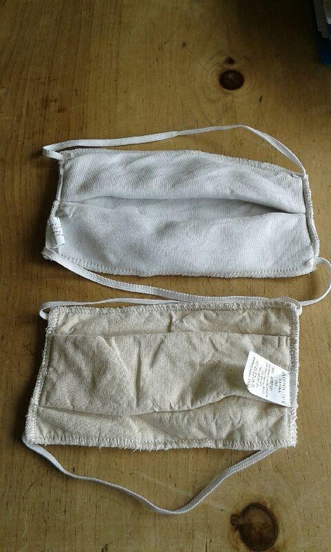 Masques en tissu Armor Lux.