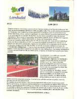 Landudal Info, N°27 Juin 2013