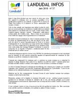 Landudal infos n°37 – Juin 2018