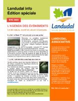 Landudal infos n°42 – Eté 2020