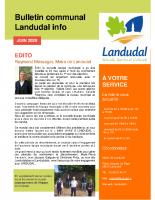 Landudal infos n°41 – Juin 2020
