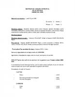Procès verbal – Conseil municipal du 29 juin 2020