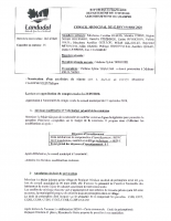 Procès verbal Conseil municipal Landudal 2 décembre 2020