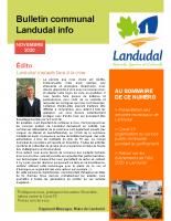 Landudal infos n°43 – Novembre 2020