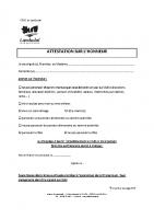 Aide du CCAS de Landudal au titre de la cantine et de la garderie 2021 – Attestation sur l'honneur