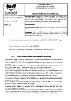 Procès verbal du Conseil municipal de Landudal du 29 mars 2021