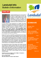 Landudal info – Bulletin d'information – Avril 2021